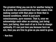 ram dass quote spirituality love