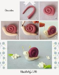 Biscuit Passo a Passo: Caracol de biscuit passo a passo