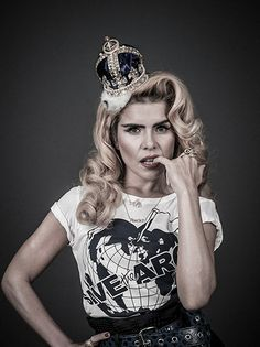 Credit: Andy Gotts. Paloma Faith supports Vivienne Westwood's Save the Arctic campaign.