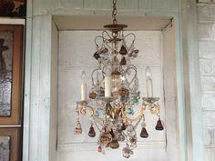 Italian Murano chandelier