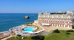 Memories of an illustrious romance are evident everywhere in the Hotel du Palais - Biarritz  http://www.thetripjunkie.com/hotels/du-palais.php