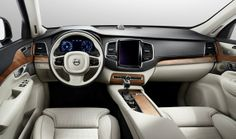 Volvo XC90 2015 Interior / Follow my MOTO board!