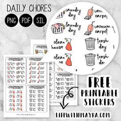 Free Planner, Blog Planner, Happy Planner, 2015 Planner, Planner Ideas, Monthly Planner, Meal Planner, Calendar Stickers, 2015 Calendar