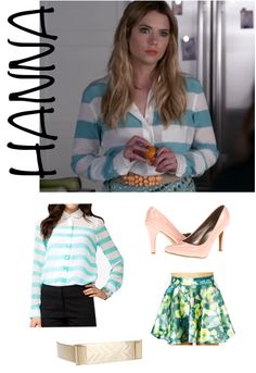 Hanna from Pretty Little Liars Pll Outfits, Chic Outfits, Pretty Little Liars Outfits, Pretty Little Liers, Little Fashion, Fashion Tv, Colourful Outfits, Classy And Fabulous, Hanna Marin