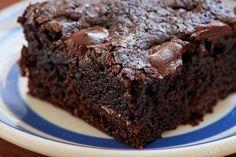 Double-Chocolate Brownie Recipe by Giada De Laurentiis www.giadaweekly.com @gdelaurentiis