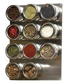 Magnetic spice board. Looking for a present for a new sailboat owner, these are perfect!