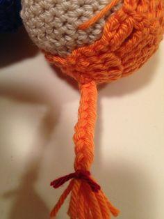 Galna i Garn: Här kommer Pippi Långstrump... Crochet Necklace, Leo, Threading, Pictures, Lion