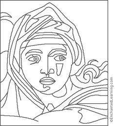 Michelangelo -Delphes Sylphide