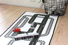 Spielteppich - die kleine Designerei: Sets zum Nähen, Buchstaben und viel schwarz-weiss