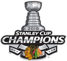 Chicago Blackhawks 2015 Stanley Cup Champions logo