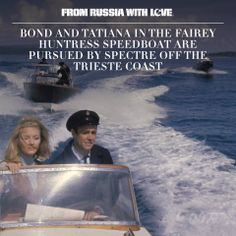 From Russia with Love.