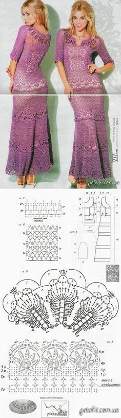18360 Besten C Lothes Dress Crochet Häkelkleider Bilder Auf