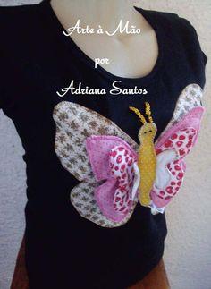 Blusa patchwork 3D - Tamanho M