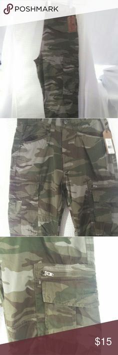 158cf191f8 Red Camel Men's Camo Cargo Pant 30/32 New with tags retail $54 Red Camel  Pants Straight Leg