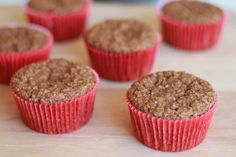 Flourless Apple Cinnamon Muffins (made and loved)