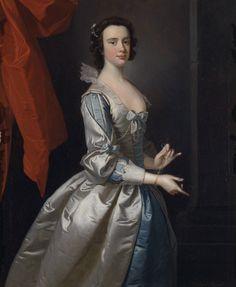 Portrait of a woman, probably Elizabeth Aislabie, of Studley Royal, Thomas Hudson, 1749