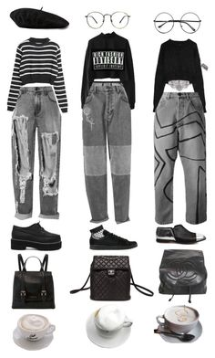 """Untitled #1003"" by jayda-xx ❤ liked on Polyvore featuring adidas, Dolce&Gabbana, Fleur du Mal, Gucci, Chanel and Retrò"