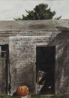 Andrew Wyeth, Maine Door