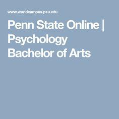 Penn State Online | Psychology Bachelor of Arts