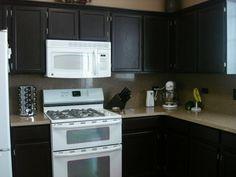 rustoleum cabinet transformations expresso | kitchen / Rustoleum ...
