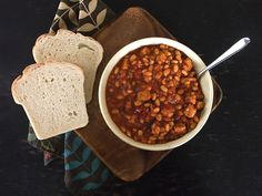 Chipotle Barbecue Baked Beans With Tempeh — Adventures in Vegan Cooking - Recipes and Tutorials