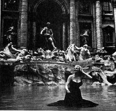 Anita Ekberg | Fontana di Trevi
