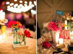 A Colorful Vintage Eclectic Winter Park Wedding