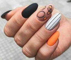 In search for some nail designs and ideas for your nails? Listed here is our set of must-try coffin acrylic nails for trendy women. Nail Design Glitter, Glitter Nails, Nails Design, Hot Nails, Hair And Nails, Nails Ideias, Minimalist Nails, Short Nail Designs, Fall Nail Designs