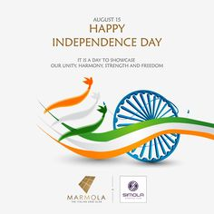 It is a day to showcase our unity, harmony, strength and freedom Happy Independence Day. 15 August Independence Day, India Independence, Navratri Wishes, National Days, Raksha Bandhan, Modern Kitchens, Indian Festivals, Happy Day, Art Sketches