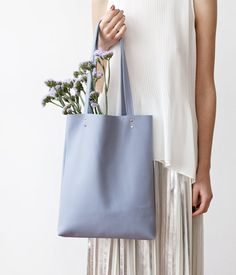 SPRING SALE Serenity Leather Tote bag No.tl- 9041