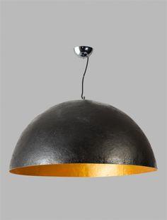 Mezzo Tondo hanglamp 100cm 3L zwart, goud