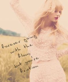 Taylor Swift-treacherous.  Heard this song for the first time today. I can't believe there's still taylor swift songs I haven't heard! :/