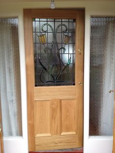 Bespoke French doors in European oak. Made to measure by Belfast ...