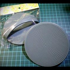 Wet felting tool - Plastic Washboard