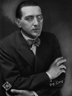 Fritz Lang (1890 - 1976) © Österreichisches Filmmuseum Best Director, Film Director, Iconic Movies, Great Movies, Le Monocle, Metropolis Fritz Lang, Jane Powell, Screen Film, Hollywood Studios