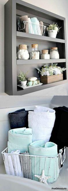 Чтобы утро было добрым: идеи хранения для ванных комнат