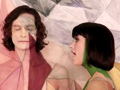 """Gotye and Kimbra. Kimbra Lee Johnson (International Music Artists), born and raised in Hamilton, New Zealand. Pictured here in hit single, """"Somebody that I used to know""""."""