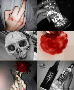 Fucked Up Princess: Photo Alcohol Aesthetic, Aesthetic Roses, Bad Girl Aesthetic, Red Aesthetic, Character Aesthetic, Aesthetic Grunge, Aesthetic Pictures, Dark Red Wallpaper, Teen Wallpaper
