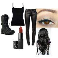 """shadow hunter costume"" by lilac7 on Polyvore"