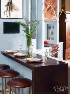 Design by Bell Kitchen and Bath Studios | Photography by David Christensen | Atlanta Homes Lifestyles |