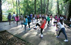 Diadema Cultural: Atividades e exercícios movimentam parques de Diad...