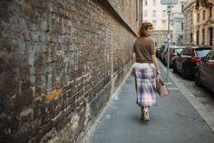 What Sara Moschini wore to Milan Fashion Week!