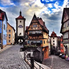 The most charming medieval town in all the land...Rothenburg!!!