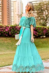 Marina Casemiro Ecommerce Analoren Vestido Longo Verão