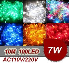 Wholesale cheap led string light online, No   - Find best  20pcs/lot 10M Led string light RGB color 100led 110V-220V Christmas light Decoration Light for Party Wedding Free shipping at discount prices from Chinese LED Strings supplier - kare on DHgate.com.