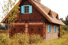 Farm near Mamry designed by architect  Piotr Olszak; www.polskadrewniana.pl; Mazury / Poland