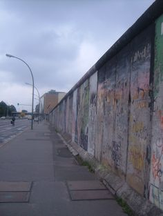 Berlin Wall - Berlin, Germany- went to the wall when I was a kid, it left an impression.