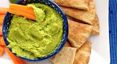 Cilantro Lime Hummus. I made with lime and definitely enough lime taste.