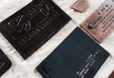 Leather label & Badge. Denim detail on Behance