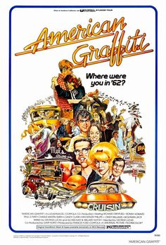 """American Graffiti"" (1973)  Life goes on.  Such a real story.  Splendid acting. A lot of people got their start in this movie."